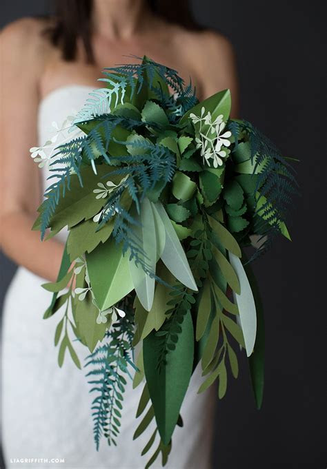 Paper Botanical Bridal Bouquet   PaperPapers Blog