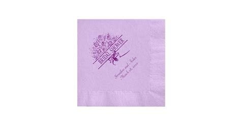 Personalized Napkins   Cheap Bridal Shower Products