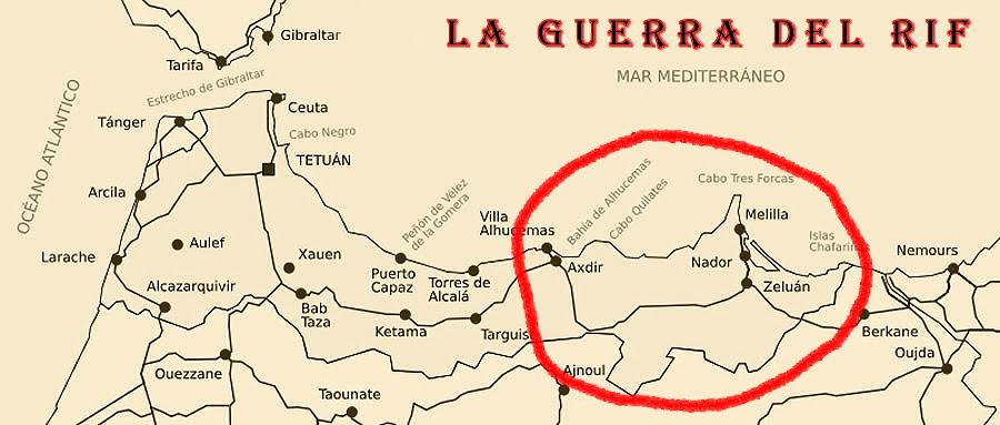 Mapa protectorado español 2