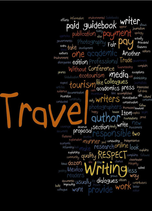 I will write a traveling guide any country any place