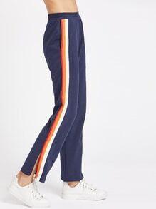 Ecommerce affiliate programs Spaghetti Strap Striped Sleeveless Jumpsuits size girl women