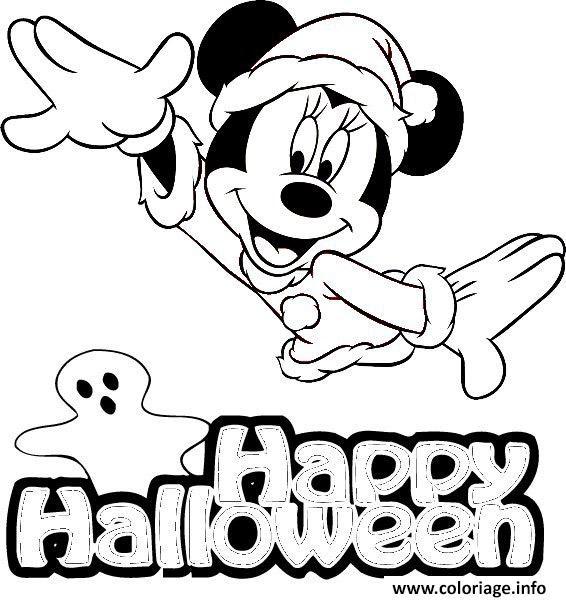 Coloriage Disney Halloween Jecoloriecom
