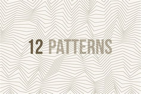 20  White Lined Pattern Designs   Free PSD, PAT, PNG