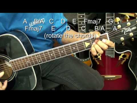 How To Learn To Switch Guitar Chords Quickly – Switching Exercise EricBlackmonMusic