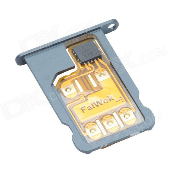 FalWok SIM Card for IPHONE 5S/ 5C /5 Only Unlock USA T-Mobile Carrier Use 3G SIM Card -Black ...