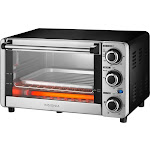 Insignia NS-TO12SS8 Electric Oven - 1100W - Stainless Steel