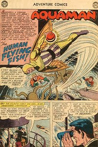 Adventure #272 Aquaman Splash Page