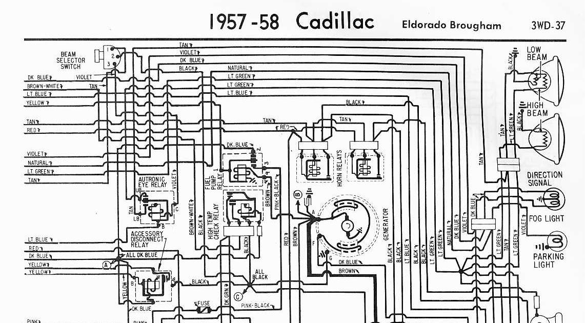 1964 Cadillac Deville Wiring Diagrams