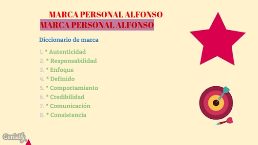 MARCA PERSONAL ALFONSO by Alfonso Fernández Portas on Genially