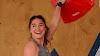 La escaladora Johanna Farber recibe disculpas después de que se transmitieron imágenes inapropiadas