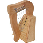 Roosebeck Mini Lacewood Harp 5-String without Engraving