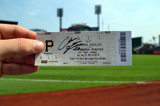 PNC Park Autographs and Balls (Pittsburgh Pirates)