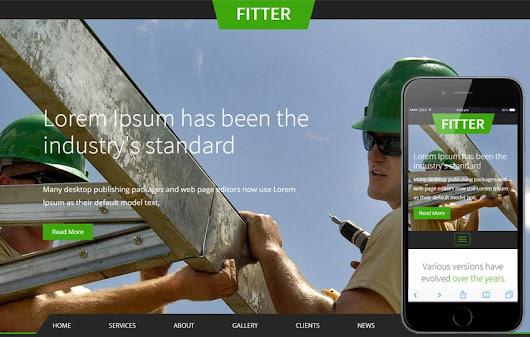 Fitter a Industrial Category Flat Bootstrap Responsive Web Template by w3layouts