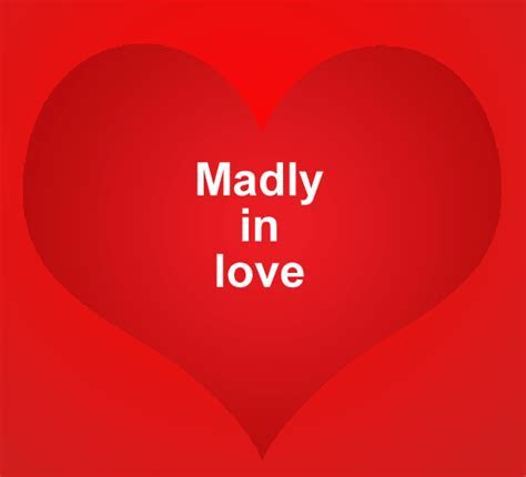 Everything Is Fair In Love And  Free Madly in Love