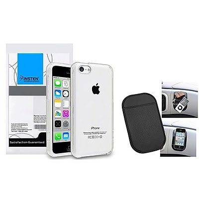 Insten 1390309 2-Piece iPhone Case Bundle For Apple iPhone 5C