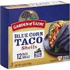 Garden of Eatin Organic Taco Shells, Blue Corn - 5.5 oz box
