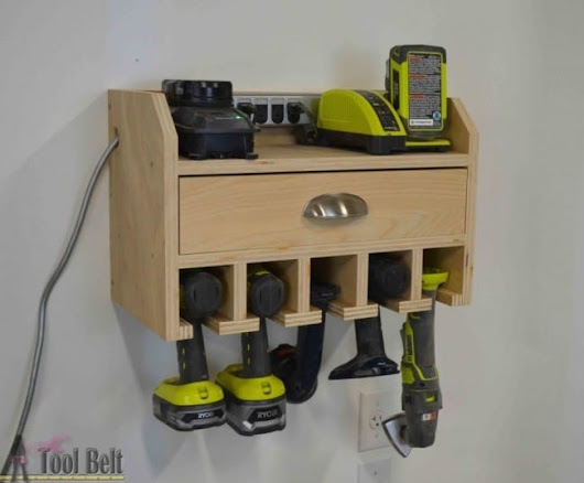 Long Term Durability Drill Storage Station