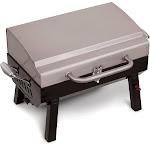 Char-Broil 200 Premium Stainless Steel Grill2Go Tabletop Portable Gas Grill by VM Express