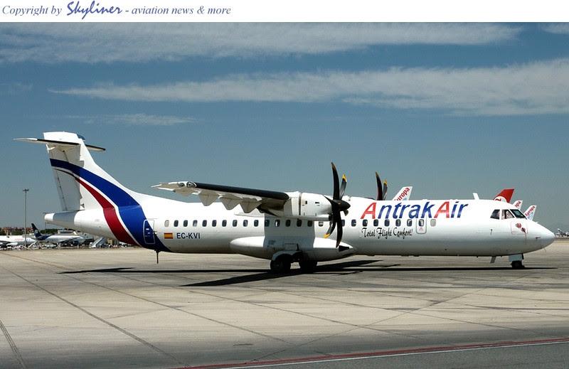 Ghana Antrak Air's ATR72 EC-KVI