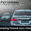 Preventing Personal Injury While Driving In the Rain