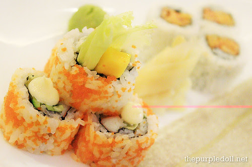 California Maki P180 and Spicy Tuna Maki P280