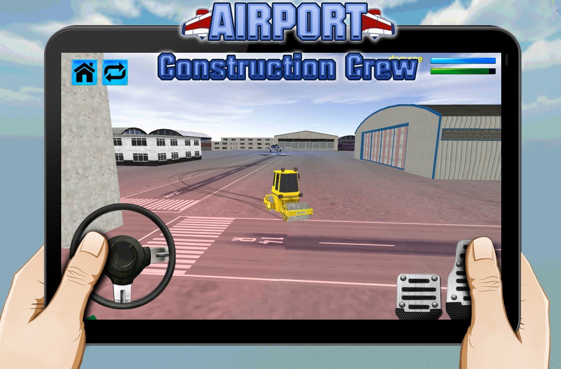 Airport Construction Crew 3D - screenshot