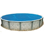 Blue Wave 12-Feet Round 8-Mil Solar Blanket for Above Ground Pools