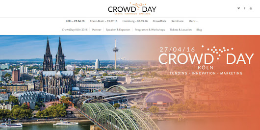 Meet us @CrowdDay in Köln!