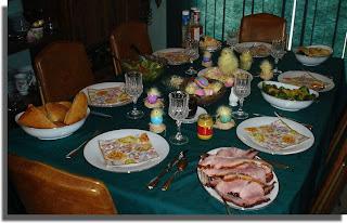 Easter Dinner 2008