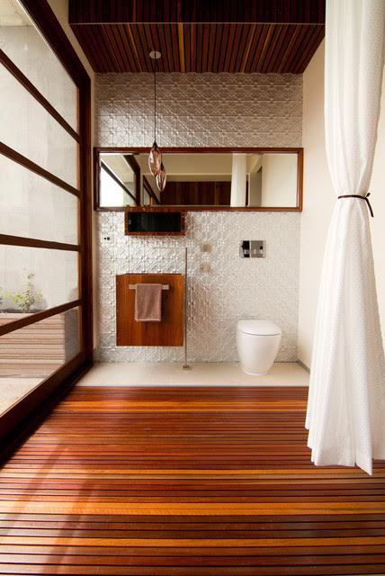 Resort Penthouse Ensuite Bathroom - Contemporary - Powder ...