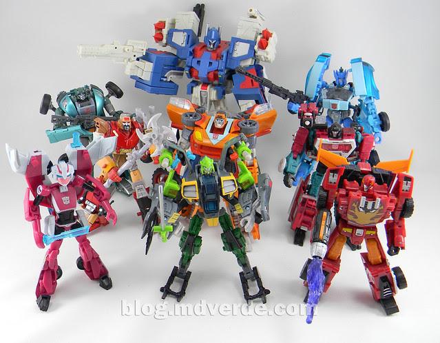 Transformers Springer Deluxe - Generations GDO - modo robots vs otros 1986