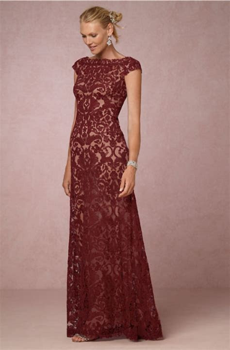 Gorgeous Mother of the Bride Dresses for Fall   mywedding