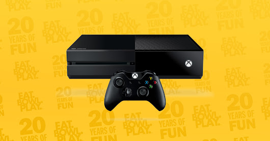 Win a FREE Xbox One Console! Main Event 20th Anniversary 20 Prize Giveaway.