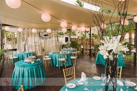Elegant Turquoise Destination Wedding Décor at Baja