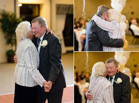 Wonderful and fun older couple at their surprise 60th