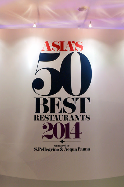 Asia's 50 Best Restaurants 2014 awards ceremony was held at Capella Singapore