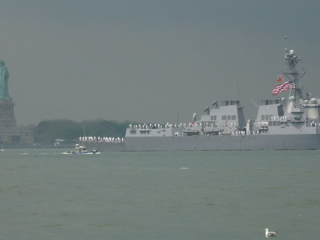 Fleet Week Parade of Ships, New York Harbor