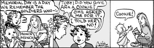 Home Spun comic strip #355