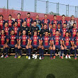 First team, including Tello and Dos Santos, pose for FC Barcelona's official UEFA photo | FC Barcelona