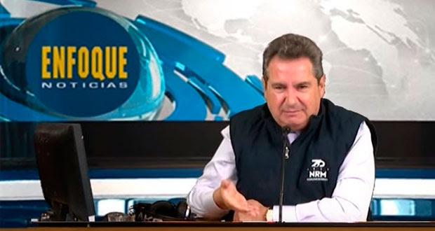 Leonardo Curzio rechaza eliminar mesa política y deja noticiero