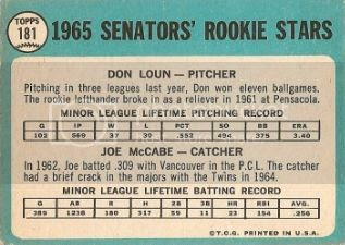 #181 Senators Rookie Stars: Don Loun and Joe McCabe (back) photo wsrookiesb_zpsb17ca112.jpg