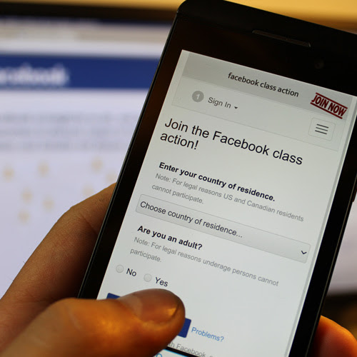 Join the Facebook Class Action!