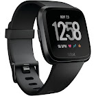 Fitbit Versa - Smart Watch with Heart Rate Monitor - Black