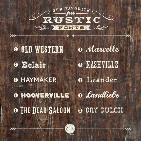 10  rustic   sign Pinterest  Typography rustic font fonts  top  free fonts