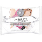 It Cosmetics Bye Bye Makeup 3-in-1 Hydrating, Anti-Aging, Makeup Removing Micellar Wipes
