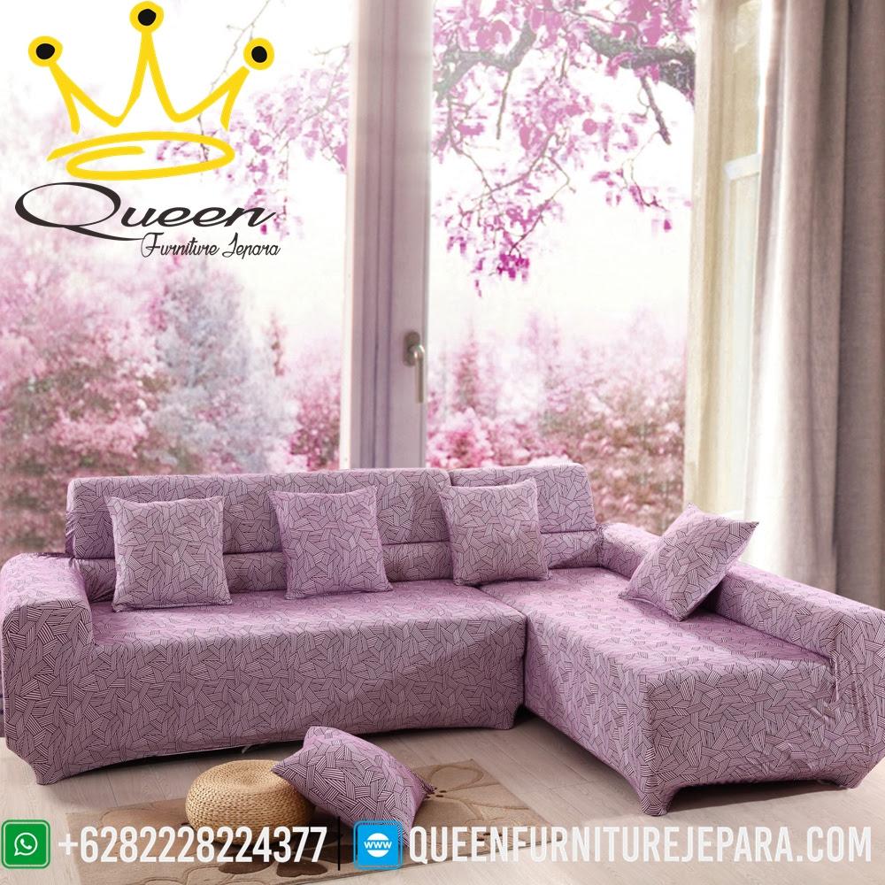 Model Sofa Sectional Fabric Jati Jepara Queen Furniture Jepara