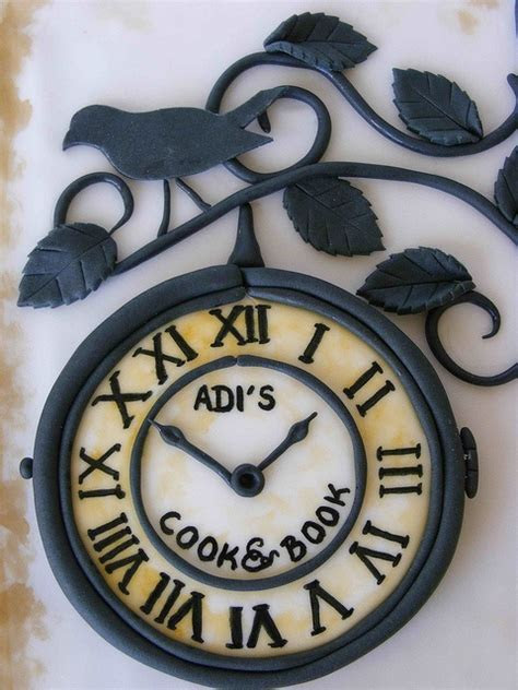 1000  images about Clock Cakes, Cupcakes, Cookies on