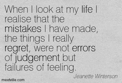 Quotes About Not Regretting Your Mistakes