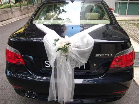 wedding car decoration   Wedding Car Decoration #2 ? Red