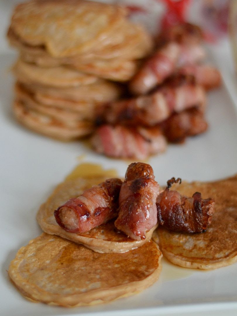 Christmas Breakfast - Pigs In Blankets & Cinnamon Pancakes